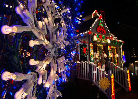 holiday cheer tacky holiday lights pictures cbs news