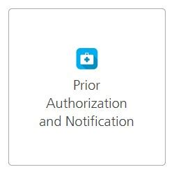 prior authorization and notification tool