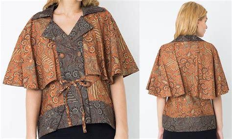 Batik Wanita Blouse Batik 10 10 blus batik handmade buatan pengrajin indonesia