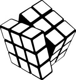 coloring book wall rubik free vector clipart best