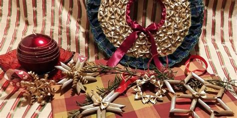 maccaroni christmas decorations make beautiful decoration with different pasta shapes