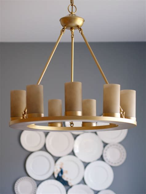 Painting Light Fixture How To Spray Paint A Light Fixture Dining Room Reveal Suburban Faux Pas