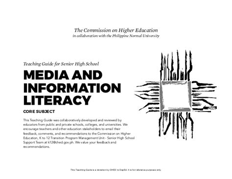 streaming videos for teaching media literacy media media and information literacy teaching guide