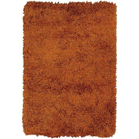 duke rug chandra duke orange rust 9 ft x 13 ft indoor area rug duk20903 913 the home depot