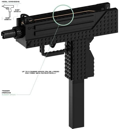 lego weapons tutorial simple to build lego guns crafty and nifty things