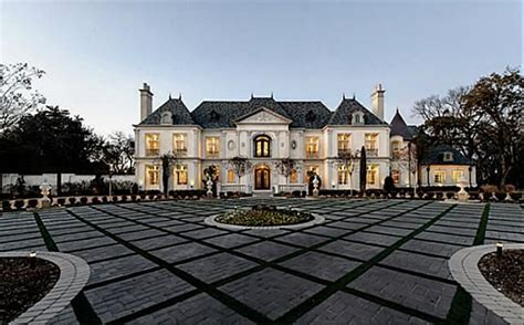 mansions in dallas chateau style mansion dallas homes european world styles