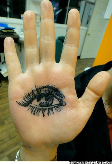 tattoo of eye in palm of hand 57 unique palm tattoo images and photos