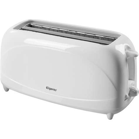 Delonghi Toaster Warranty Elgento E20011 4 Slice Toaster White Iwoot
