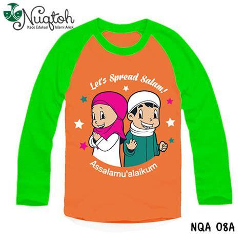 Kaos Anak Muslim Ms 03 baju kaos anak perempuan lengan panjang jual sepatu vans