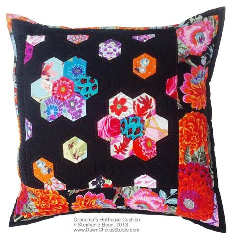 Free Patchwork Patterns For Cushions - free quilt pattern grandma s hothouse cushion