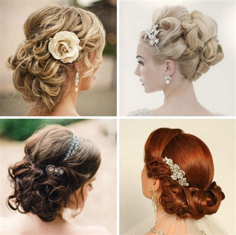 How To Do Vintage Wedding Hairstyles by And Wedding Up Do Hairstyles