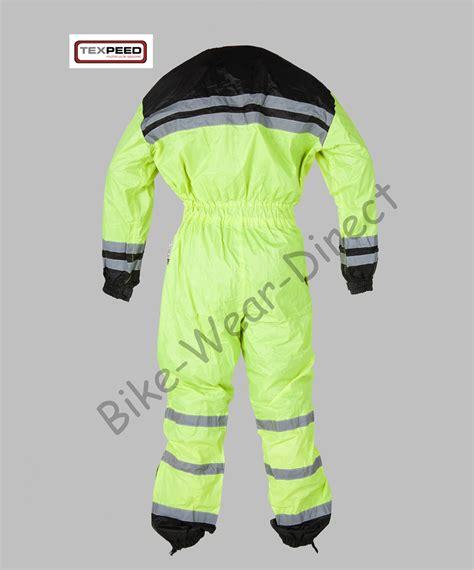 waterproof cycling suit hi vis high visibility waterproof motorcycle bike cycling