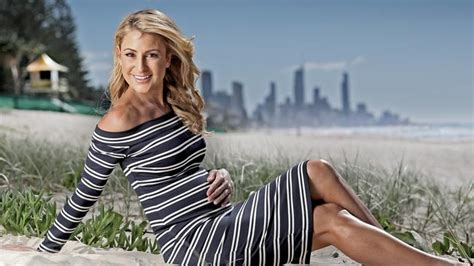 channel  liz cantor pregnant  courier mail