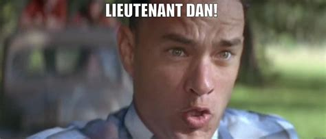 Dan Meme - lieutenant dan quickmeme