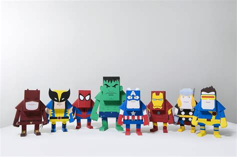 Toys With Paper - paper toys