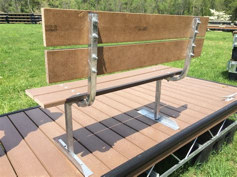 boat dock benches simple bench boat dock accessories american muscle
