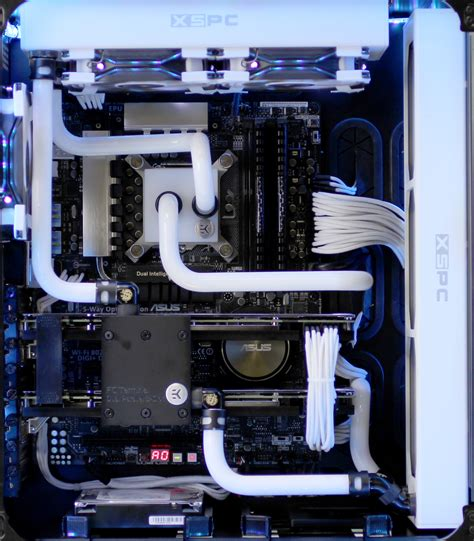 Water Cooling Costum hardline liquid cooling in a pc