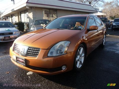 burnt orange nissan altima 2004 nissan maxima 3 5 se in radiant ember 839121