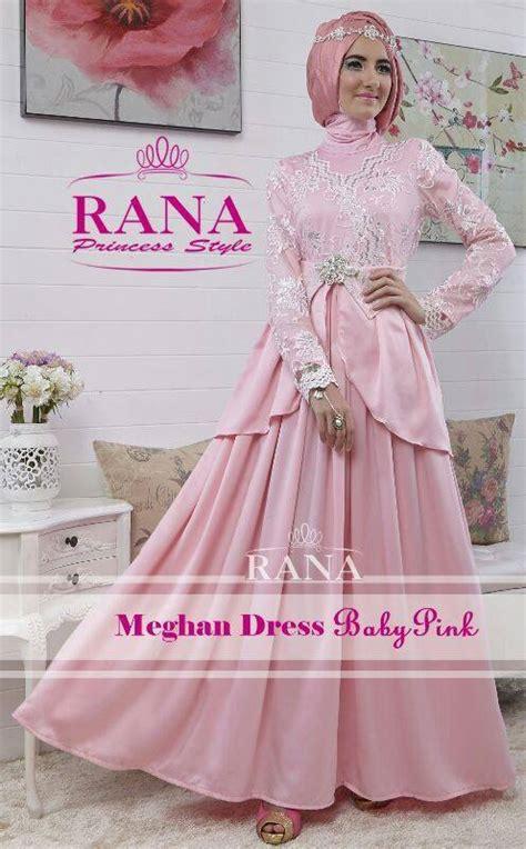 Malam Baby Pink Model Baju Gaun Pesta Renda Hairstyle Gallery
