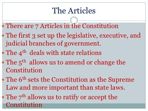 7 sections of the constitution preamble principles