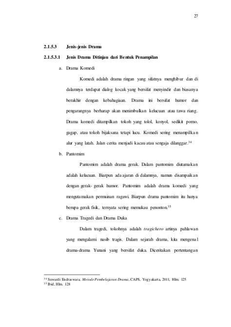 Analisis Drama Dan Teater Jilid 2 Soediro Satoto Studi Perancangan Penulisan Skenario Dalam Produksi