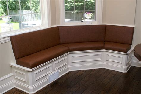 banquett seating banquette design in built
