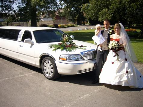 Wedding Limousine by Excalibur The Elegante Wedding Limousine