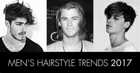 men u0027s hairstyle trends 2017 fresh cuts hair design