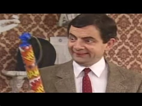 painting mr bean mr bean painting with fireworks