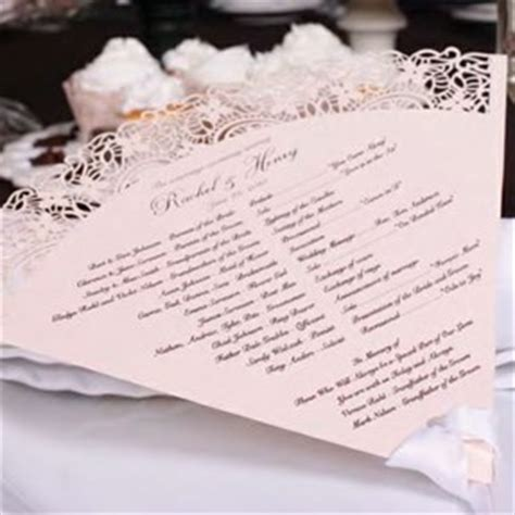 www wiltonprint favor templates make your own wedding fan programs wedding paper divas