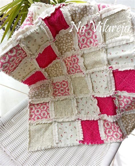 manta baby patchwork rag quilt no vilarejo elo7