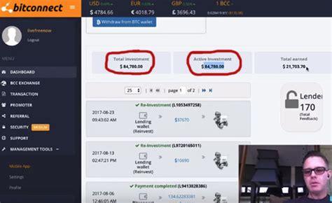bitconnect gone top us bitconnect investor glenn arcaro vanishes mlm