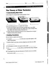 volcanoes and plate tectonics worksheet answers worksheets