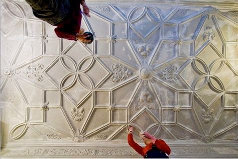 Strapwork Ceiling by Clare Venables Stuccoes Archtitectural Sculpture
