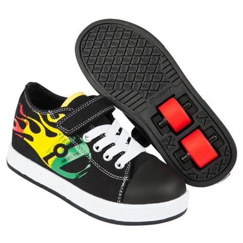 heelys chaussure 224 x2 spiffy 770717 black rasta