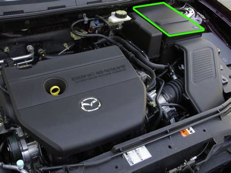 Mazda Battery Location Wiring Diagrams Image Free