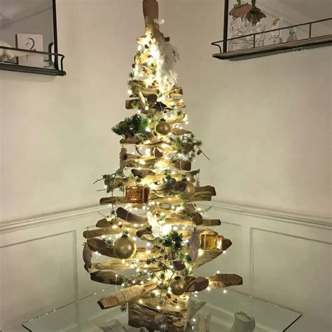 original chriistmas trees 5ft and 6ft driftwood tree by doris brixham notonthehighstreet