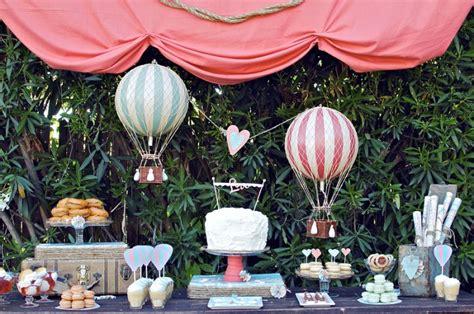 air balloon wedding theme bravobride