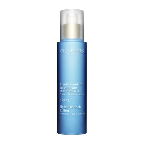 Clarins Bust Lotion Uk 15 Ml X 3 hydraquench lotion spf 15 normal to combination skin