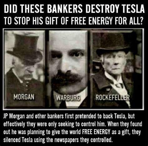 Tesla And Jp Nikola Tesla Free Energy Democracy Where It