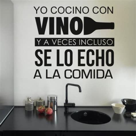 vinilos decorativos cocina vinilo decorativo cocinando con vino