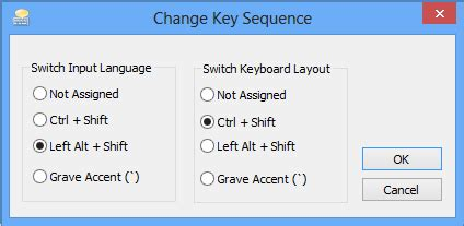 how to switch between keyboard input languages in windows