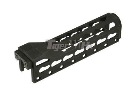 5ku Pk 1 Aluminum Ak Foregrip Aluminum Construction 5ku aluminum alfa key mod handguard for ak47 74 aeg rifle bk airsoft tiger111hk area