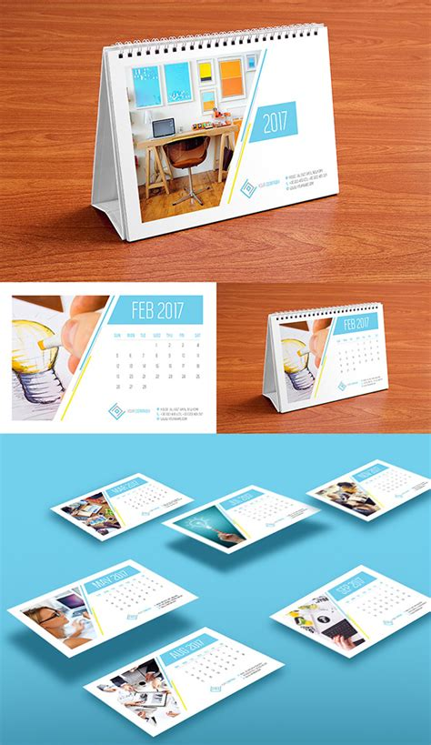 design table calendar 2016 10 best monthly wall desk calendar designs of 2017 you