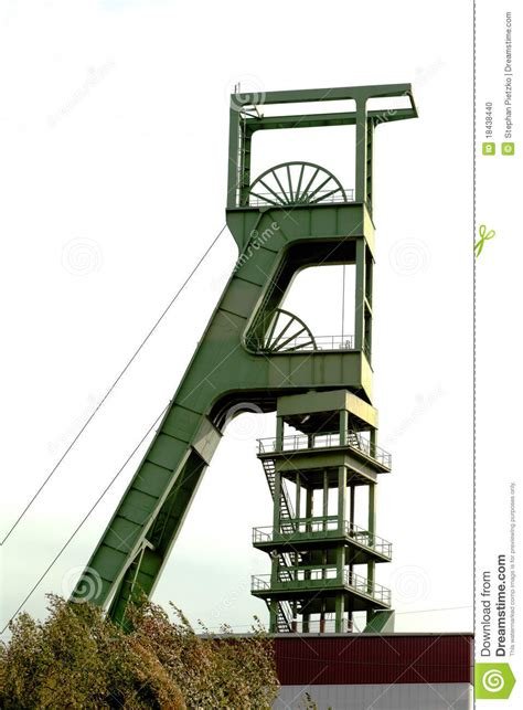 design brief of mine headgear coal mine headgear tower stock photo image of hoist