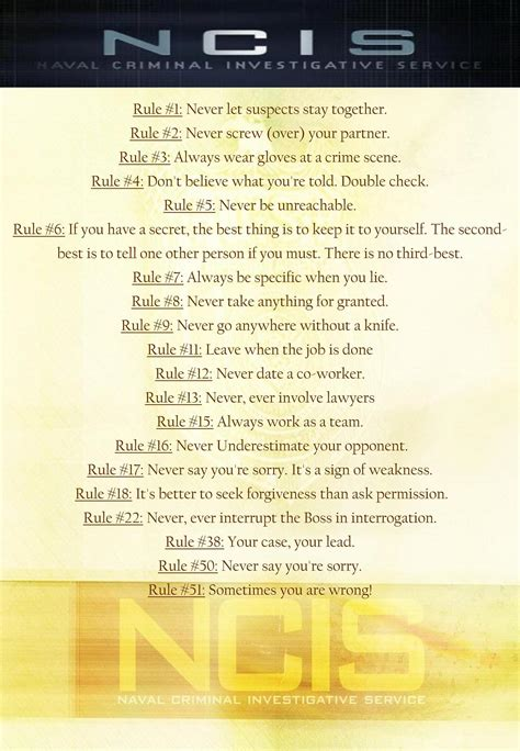 printable version of gibbs rules ncis images gibbs rules hd wallpaper and background