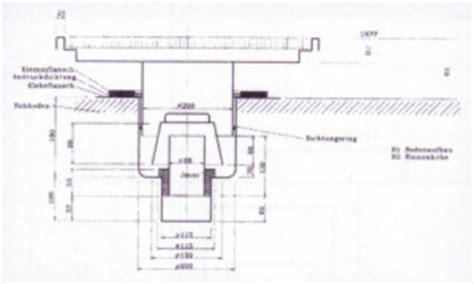 bodeneinlauf garage bodenentw 228 sserungsrinne eckventil waschmaschine
