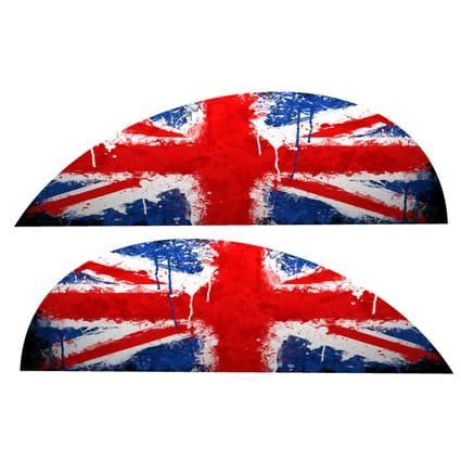 Auto Sticker Union Jack by Union Jack Stickers Vespa Stickythings Nl