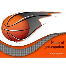 Basket Template by Basketball Powerpoint Template Background For Presentation