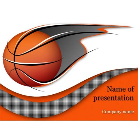 Basketball Powerpoint Template Background For Presentation Basketball Powerpoint Presentation